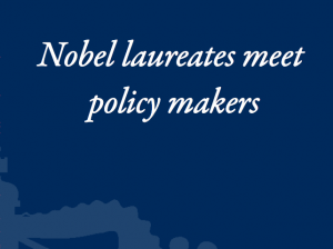 Presentation of KVS Preadviezen: 'Nobel Laureates Meet Policy Makers'