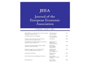 Paper by Fellow Cars Hommes in Journal of The European Economic Association