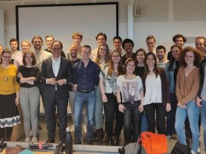 Dutch Minister Wouter Koolmees Attends a Seminar of TI Alumni Alexandra Rusu and Albert Jan Hummel