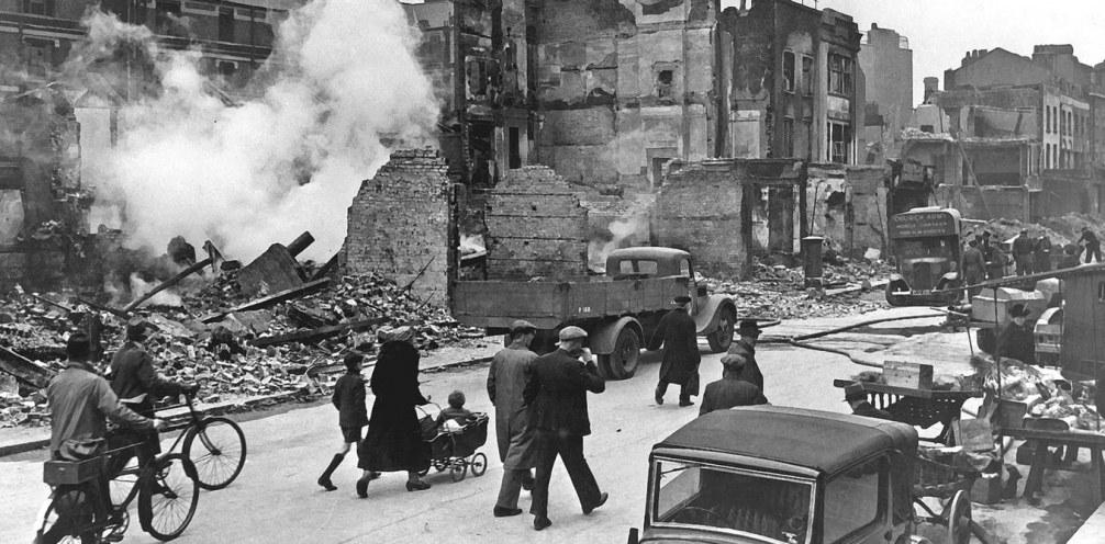 The Billion Pound Drop: Did the Blitz enhance London's Economy?