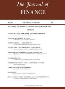 An Experimental Study of Bond Market Pricing